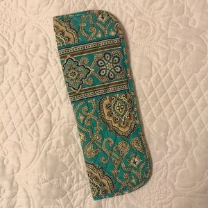 Vera Bradley curling iron or flat iron cover